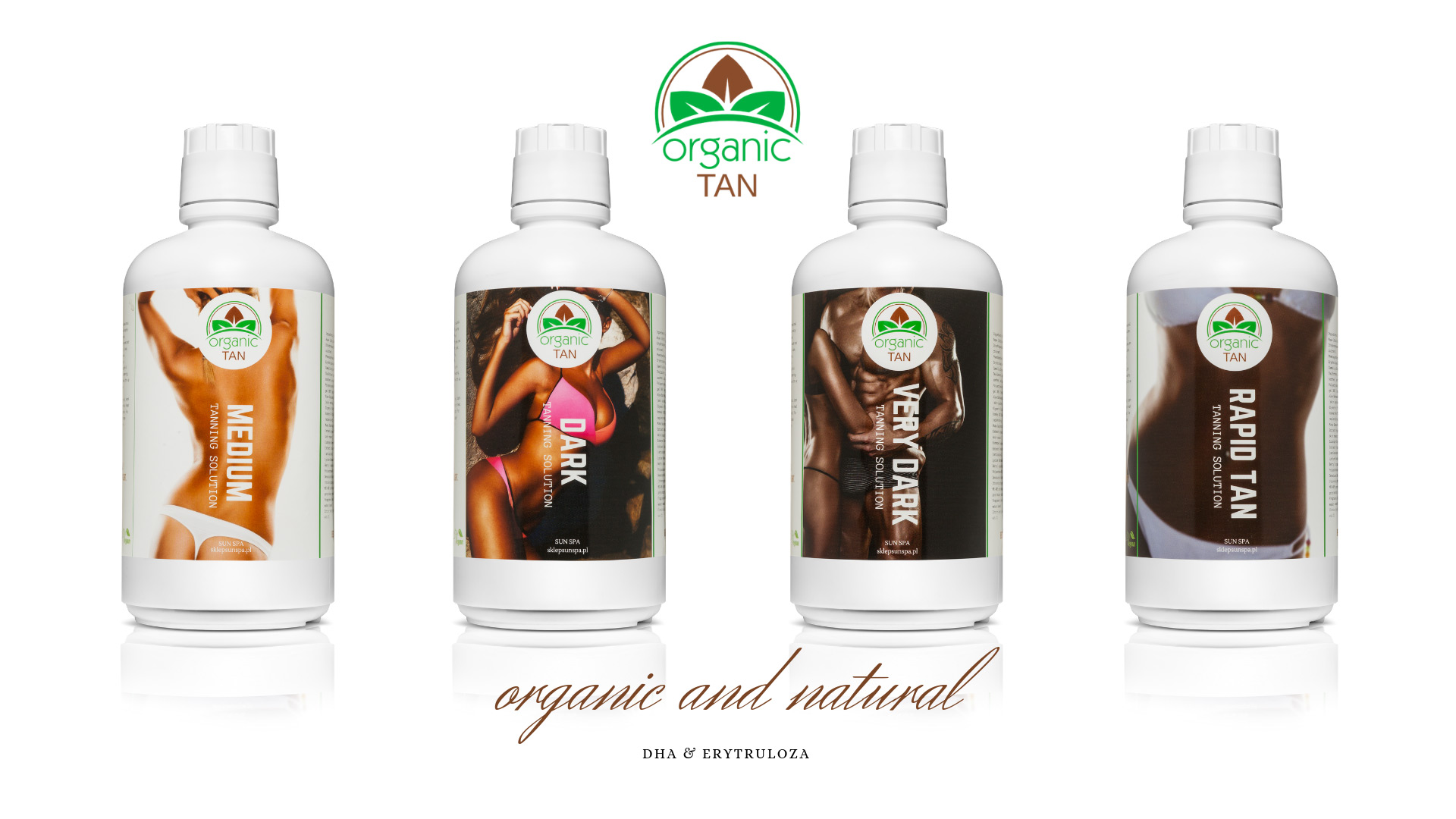 Salon Sun Spa - płyny opalające marki organictan